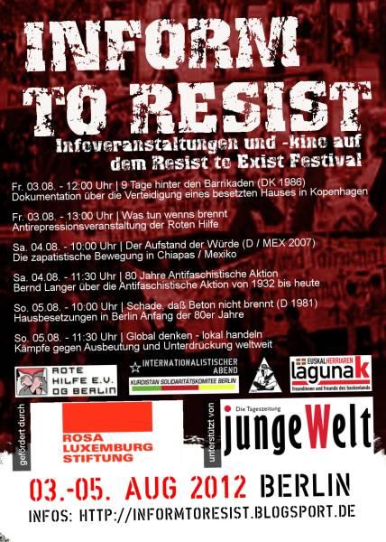 Inform to Resist